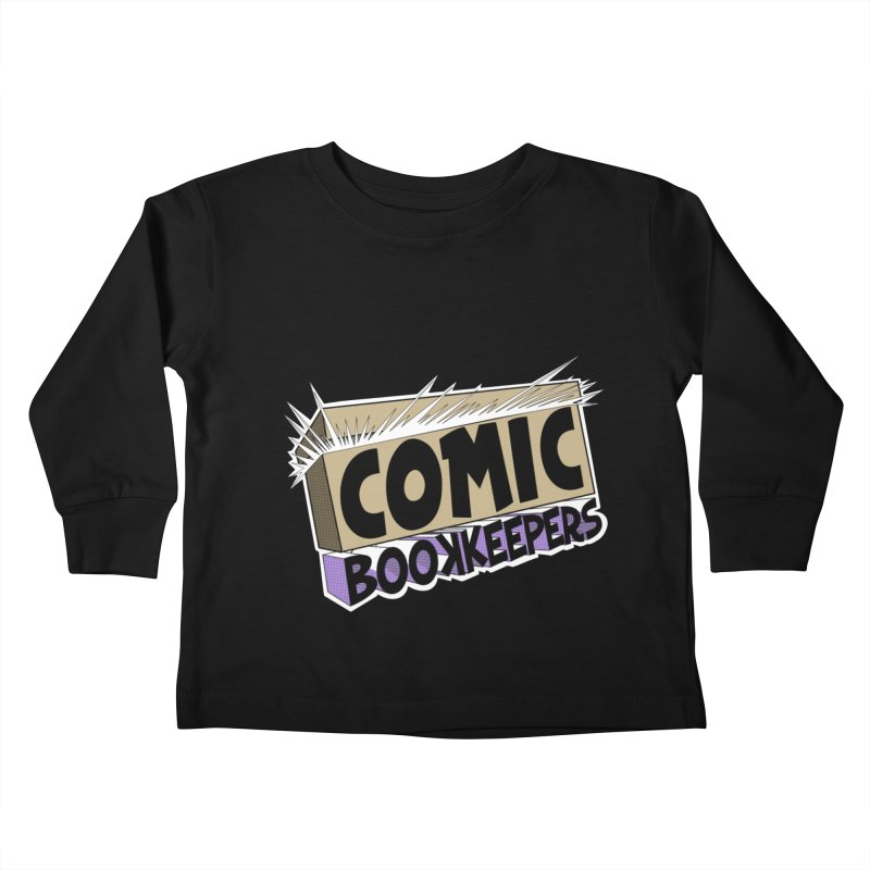 Comic Book Keepers Long-Box Kids Toddler Longsleeve T-Shirt by ComicBookKeepers's Artist Shop