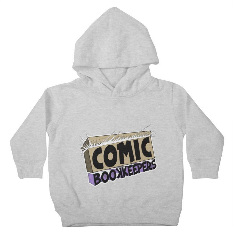 Comic Book Keepers Long-Box Kids Toddler Pullover Hoody by ComicBookKeepers's Artist Shop