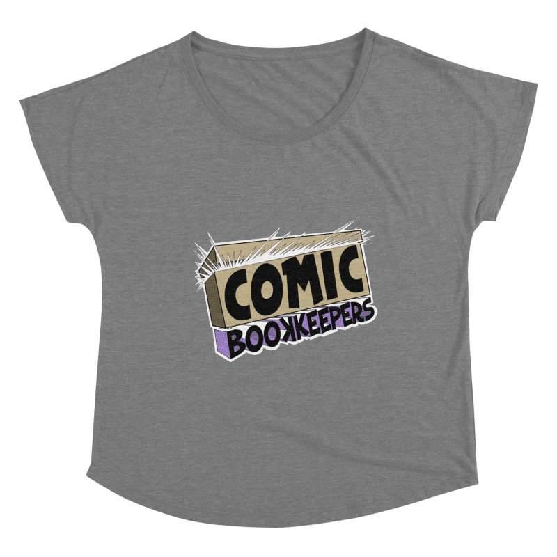 Comic Book Keepers Long-Box Women's Scoop Neck by ComicBookKeepers's Artist Shop