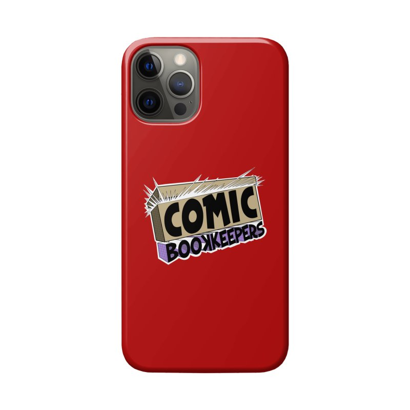 Comic Book Keepers Long-Box Accessories Phone Case by ComicBookKeepers's Artist Shop