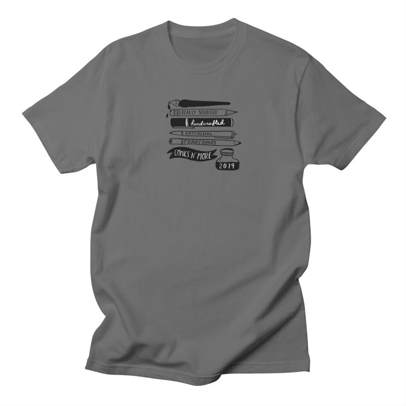 Locally Sourced Handcrafted Artisanal Funny Books Men's T-Shirt by Comicsnmore's Artist Shop