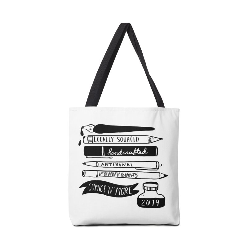 Locally Sourced Handcrafted Artisanal Funny Books Accessories Bag by Comixmonger's Closet