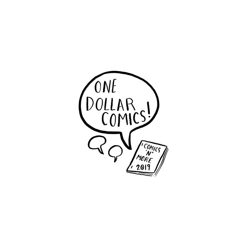 One Dollar Comics Men's T-Shirt by Comicsnmore's Artist Shop