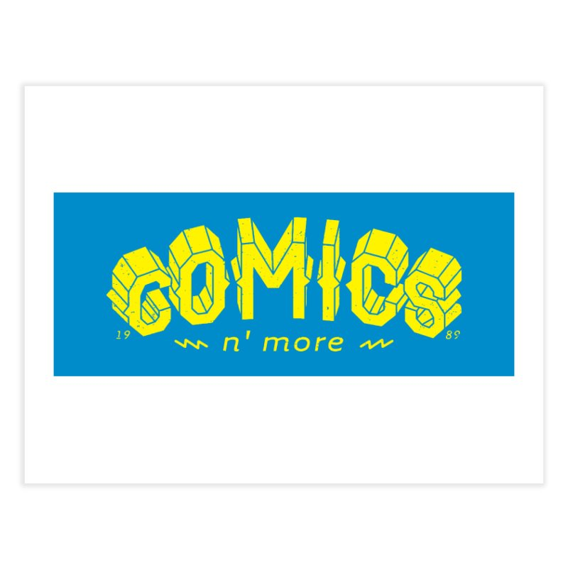 Comics N'More Home Fine Art Print by Comicsnmore's Artist Shop