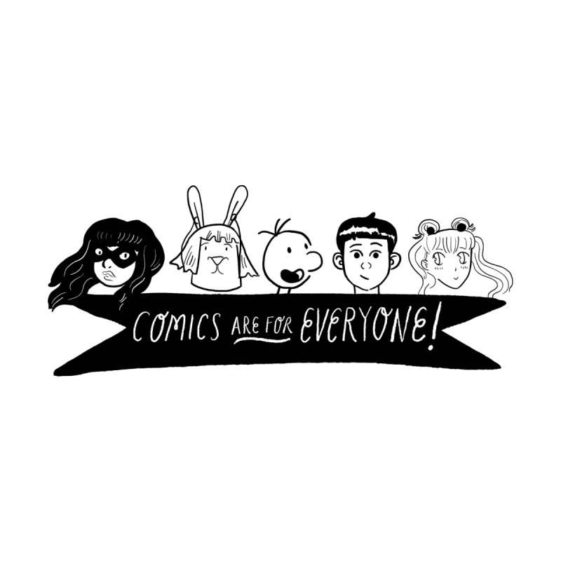 Comics are for Everyone Men's T-Shirt by Comicsnmore's Artist Shop