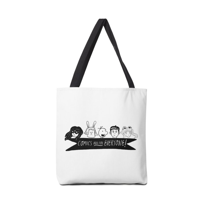Comics are for Everyone Accessories Bag by Comicsnmore's Artist Shop