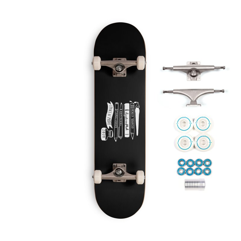 Reverse Locally Sourced Accessories Skateboard by Comicsnmore's Artist Shop