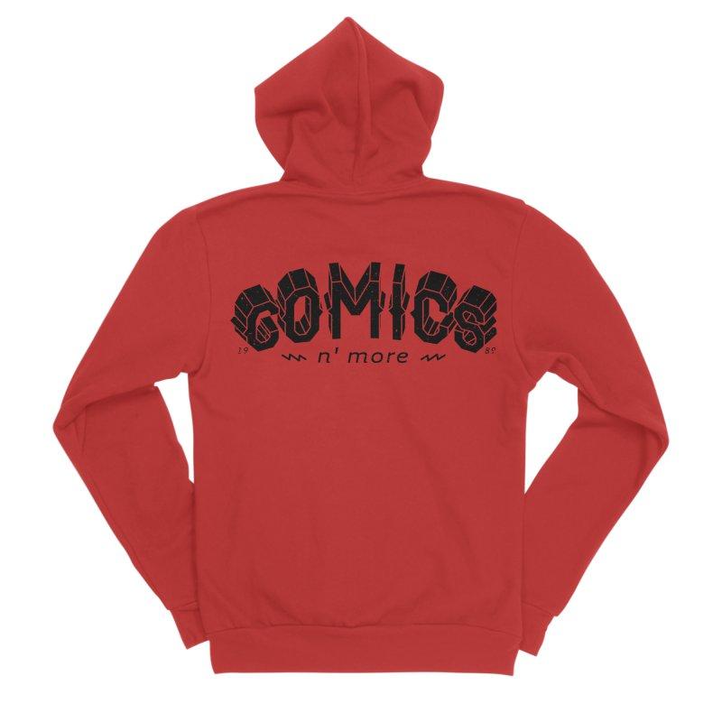 COMICS N'MORE Men's Zip-Up Hoody by Comicsnmore's Artist Shop