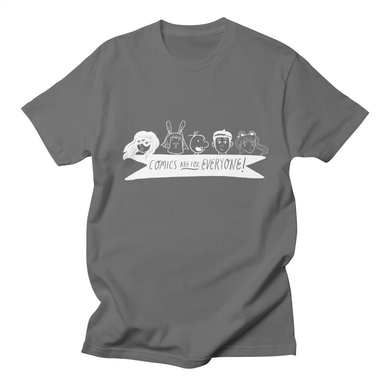 Reverse Comics Are For Everyone Men's T-Shirt by Comicsnmore's Artist Shop