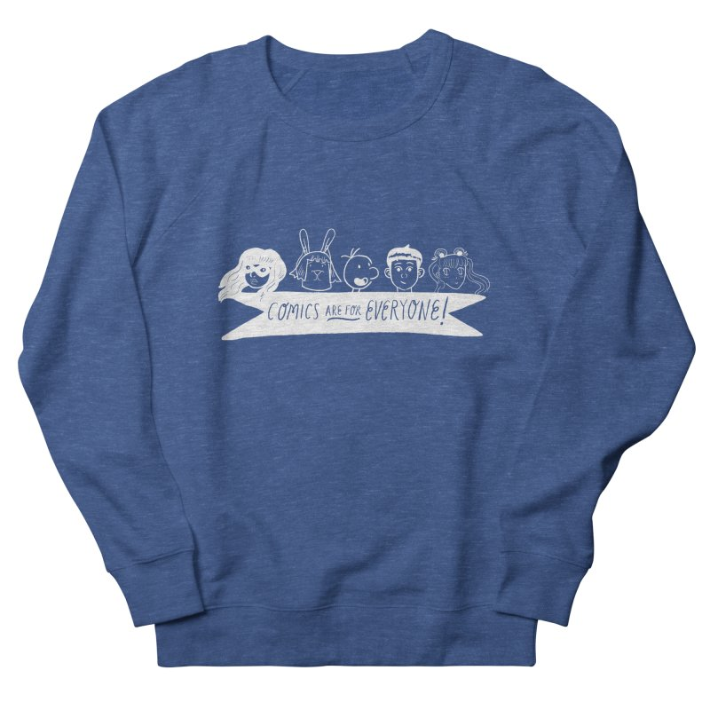 Reverse Comics Are For Everyone Men's Sweatshirt by Comicsnmore's Artist Shop