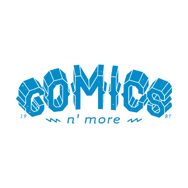 COMICS N' MORE Blue Accessories Mug by Comicsnmore's Artist Shop