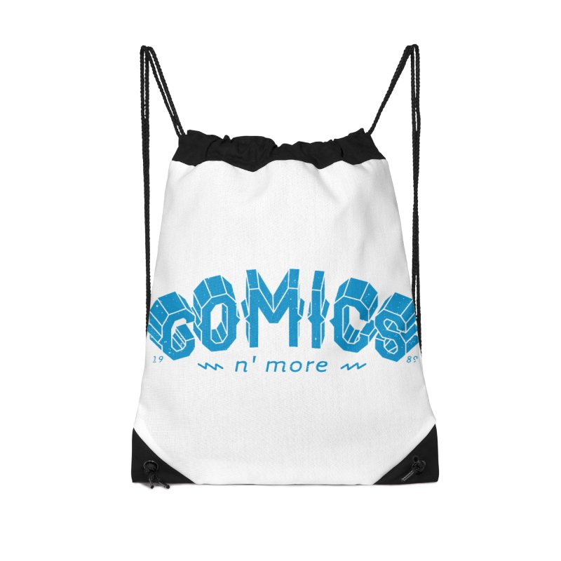 COMICS N' MORE Blue Accessories Bag by Comicsnmore's Artist Shop