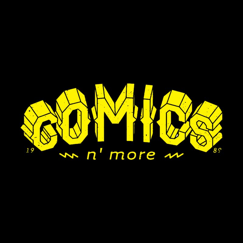 COMICS N' MORE Yellow Accessories Skateboard by Comicsnmore's Artist Shop