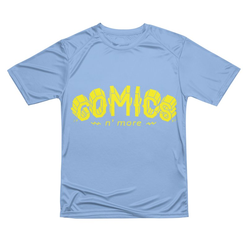 COMICS N' MORE Yellow Women's T-Shirt by Comicsnmore's Artist Shop