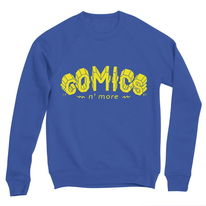 COMICS N' MORE Yellow Women's Sweatshirt by Comicsnmore's Artist Shop