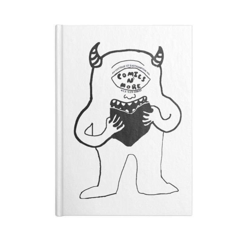 Comics Monster Accessories Notebook by Comixmonger's Closet