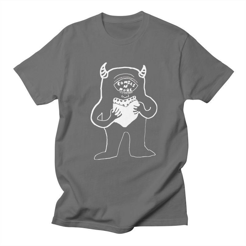 Reverse Comics Monster Men's T-Shirt by Comicsnmore's Artist Shop