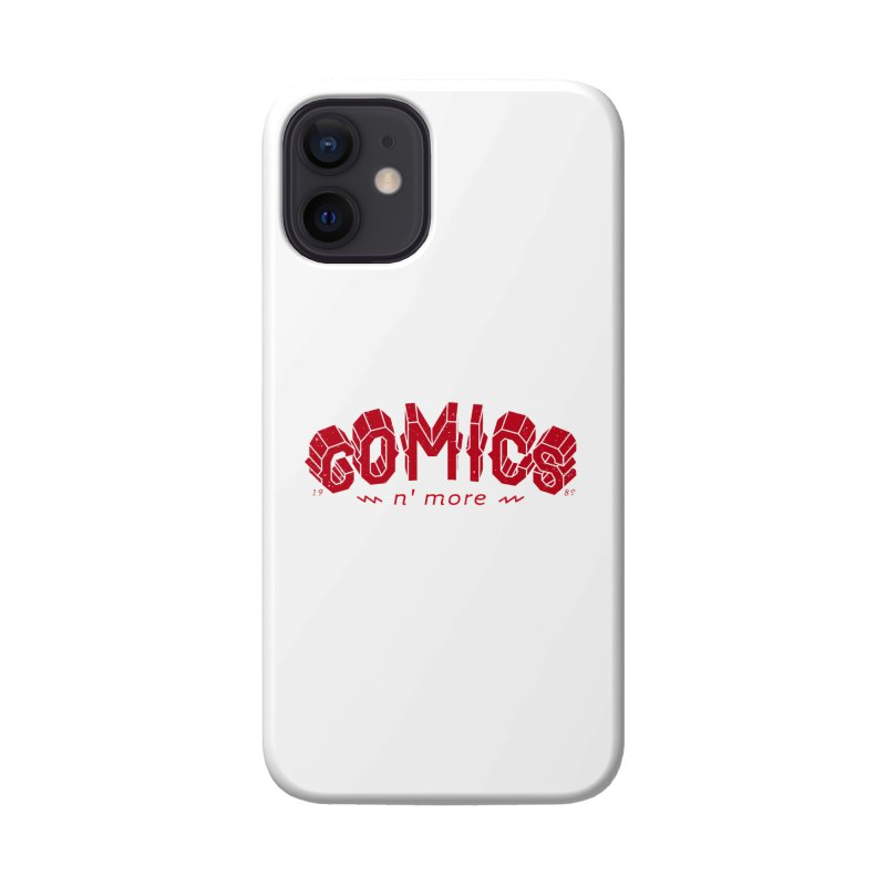 COMICS N' MORE RED Accessories Phone Case by Comixmonger's Closet