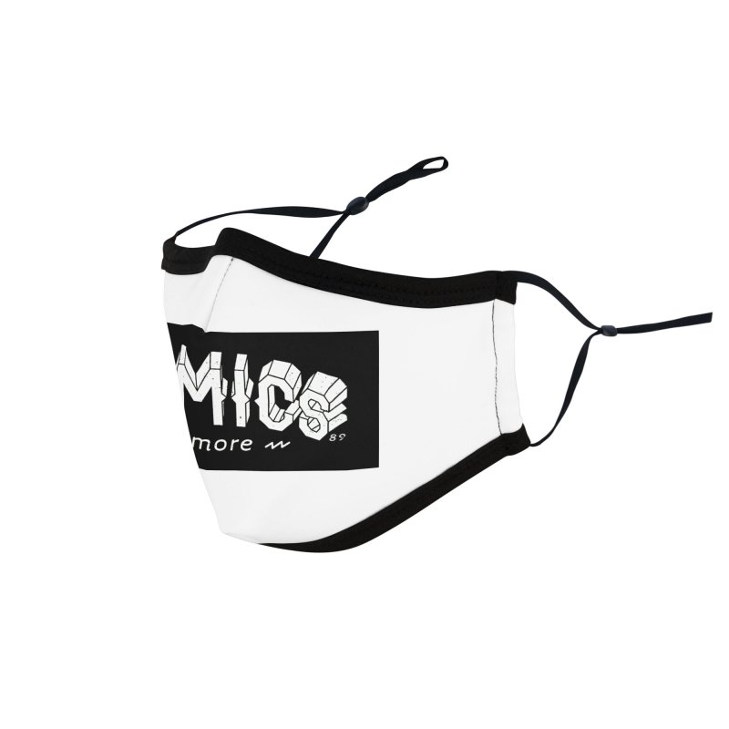 COMICS N' MORE BLACK BAR Accessories Face Mask by Comicsnmore's Artist Shop