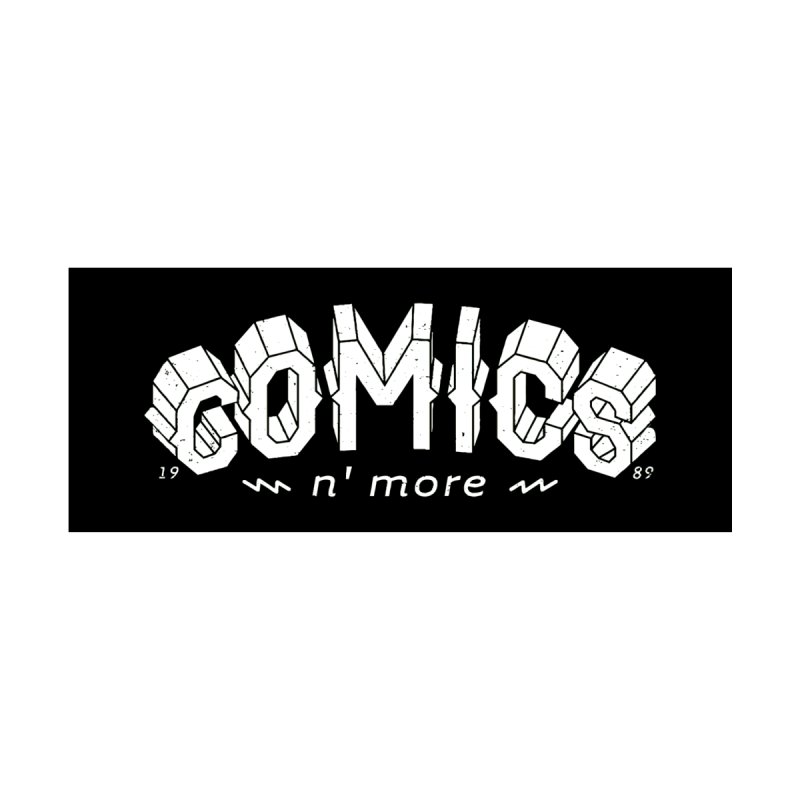 COMICS N' MORE BLACK BAR Accessories Skateboard by Comicsnmore's Artist Shop