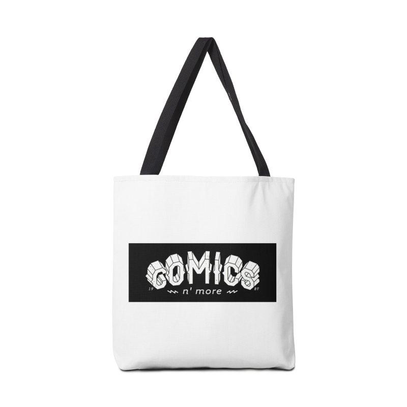 COMICS N' MORE BLACK BAR Accessories Bag by Comixmonger's Closet