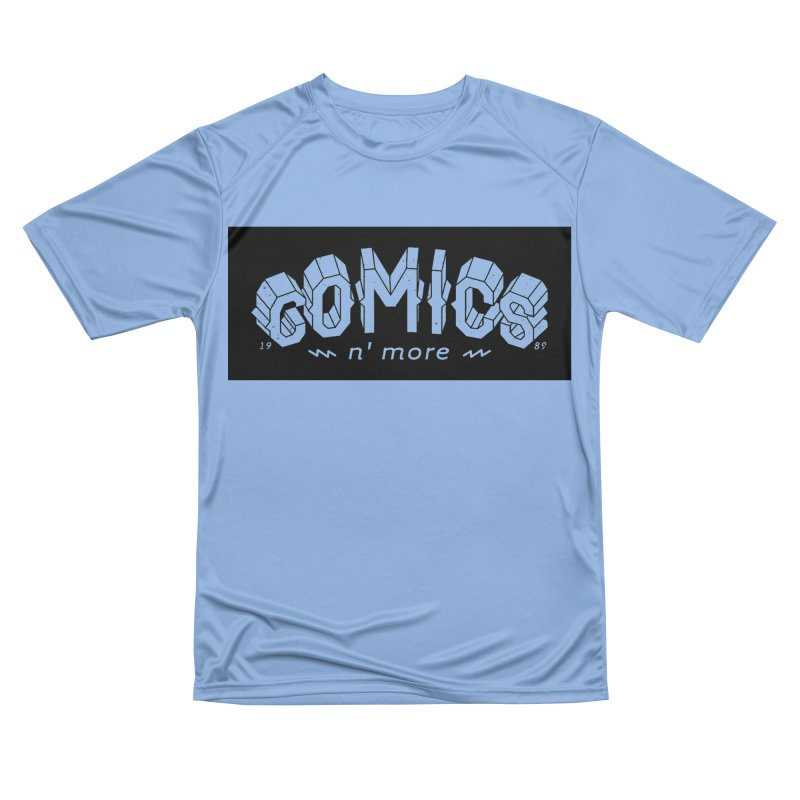 COMICS N' MORE BLACK BAR Women's T-Shirt by Comixmonger's Closet