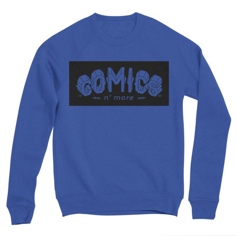 COMICS N' MORE BLACK BAR Men's Sweatshirt by Comicsnmore's Artist Shop