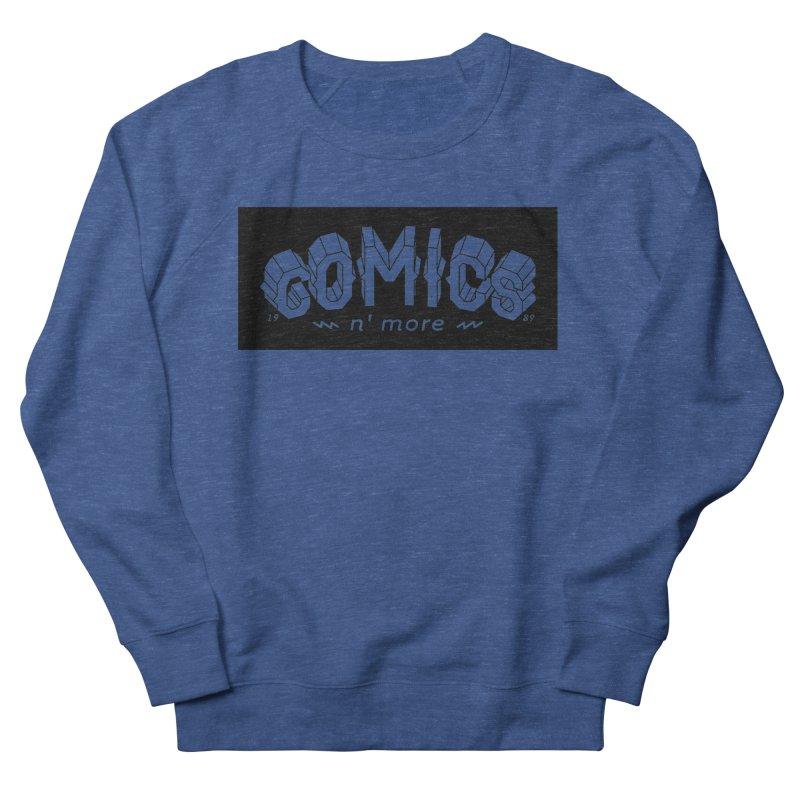 COMICS N' MORE BLACK BAR Men's Sweatshirt by Comixmonger's Closet