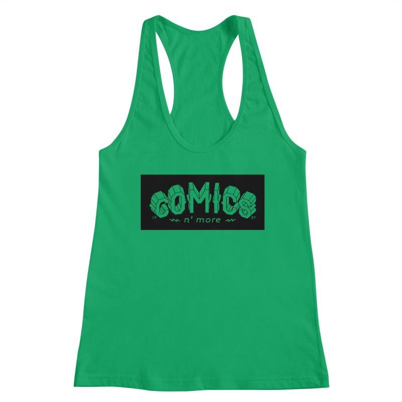 COMICS N' MORE BLACK BAR Women's Tank by Comixmonger's Closet