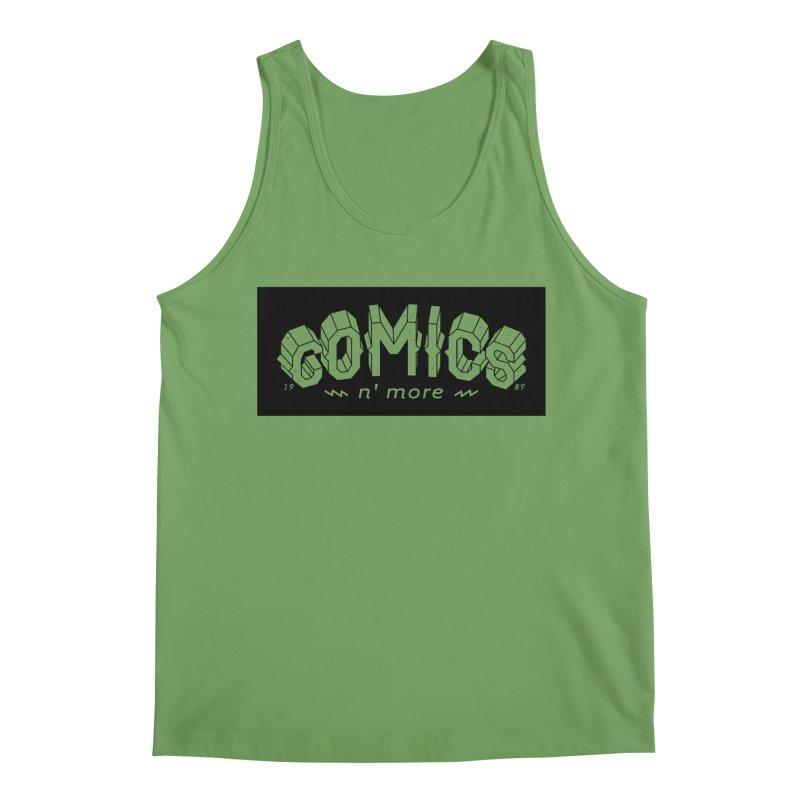 COMICS N' MORE BLACK BAR Men's Tank by Comixmonger's Closet