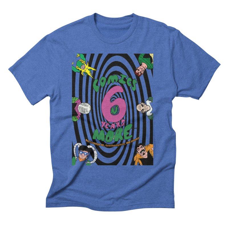 SIX TEARS BLACK SPIRAL Men's T-Shirt by Comixmonger's Closet