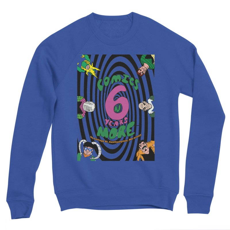 SIX TEARS BLACK SPIRAL Men's Sweatshirt by Comicsnmore's Artist Shop