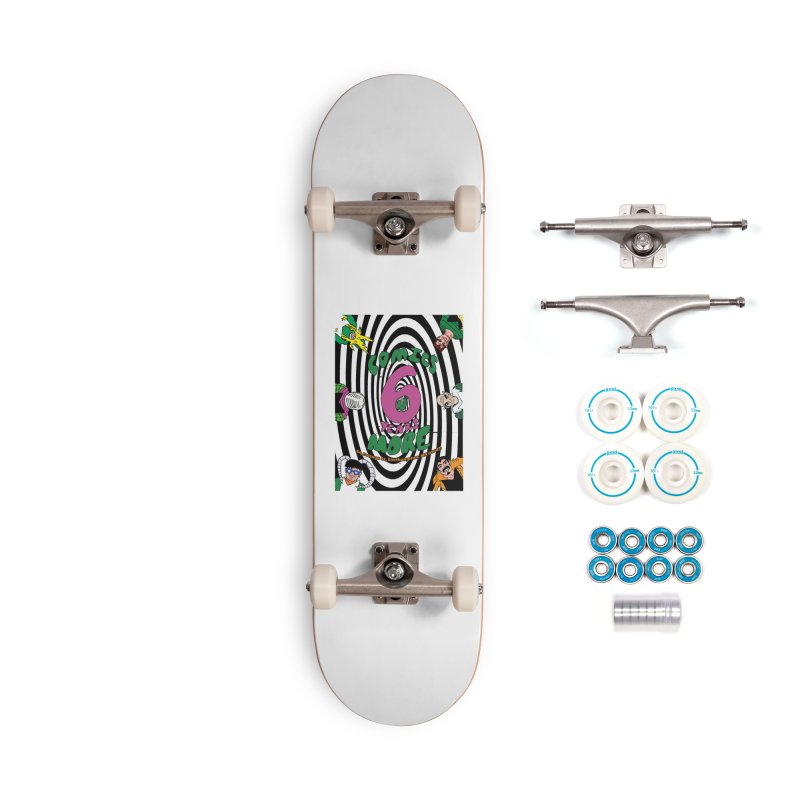 SIX TEARS BLACK SPIRAL Accessories Skateboard by Comicsnmore's Artist Shop