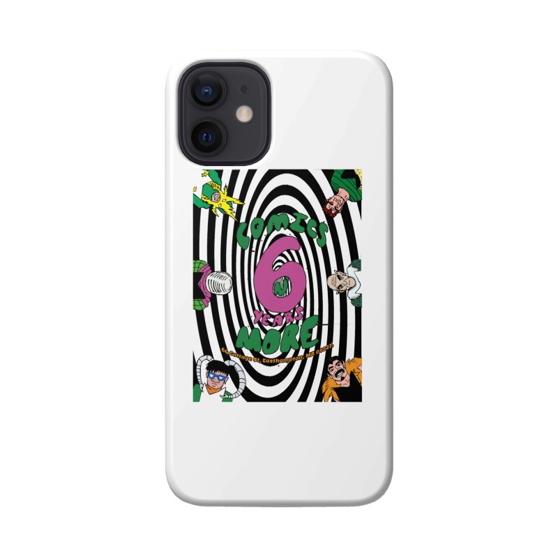 SIX TEARS BLACK SPIRAL Accessories Phone Case by Comixmonger's Closet