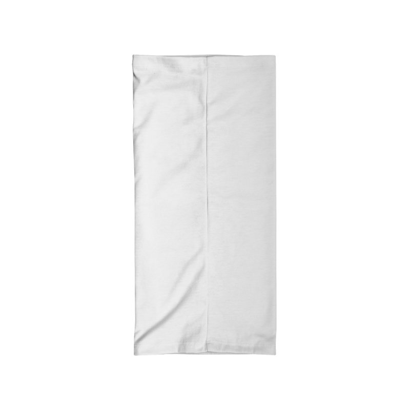 SIX YEARS WHITE SPIRAL Accessories Neck Gaiter by Comixmonger's Closet