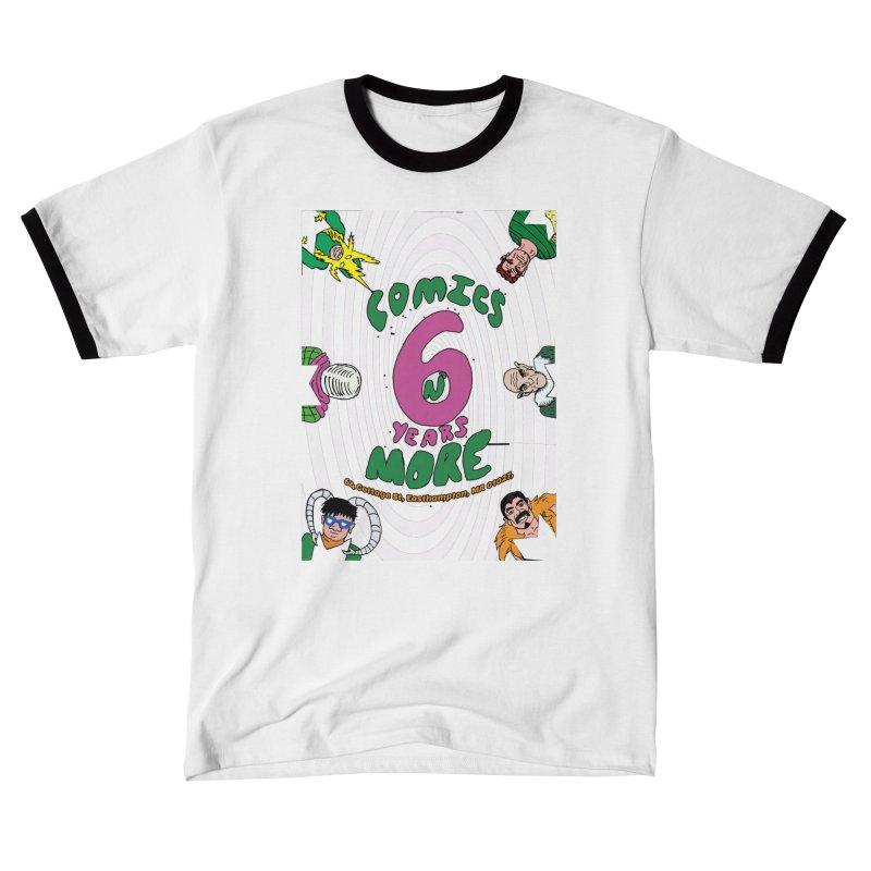 SIX YEARS WHITE SPIRAL Women's T-Shirt by Comixmonger's Closet