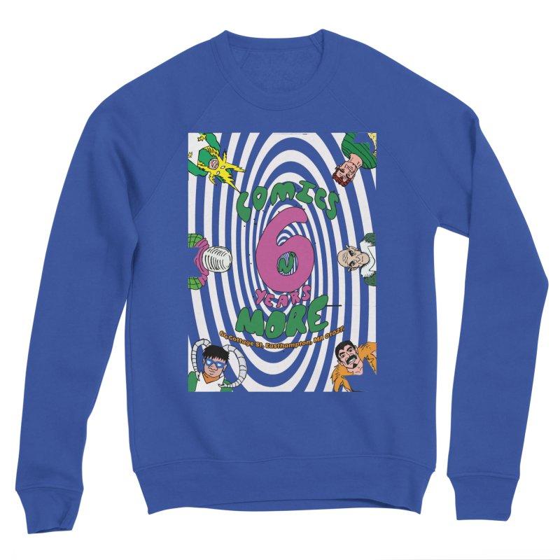 SIX YEARS WHITE SPIRAL Women's Sweatshirt by Comicsnmore's Artist Shop