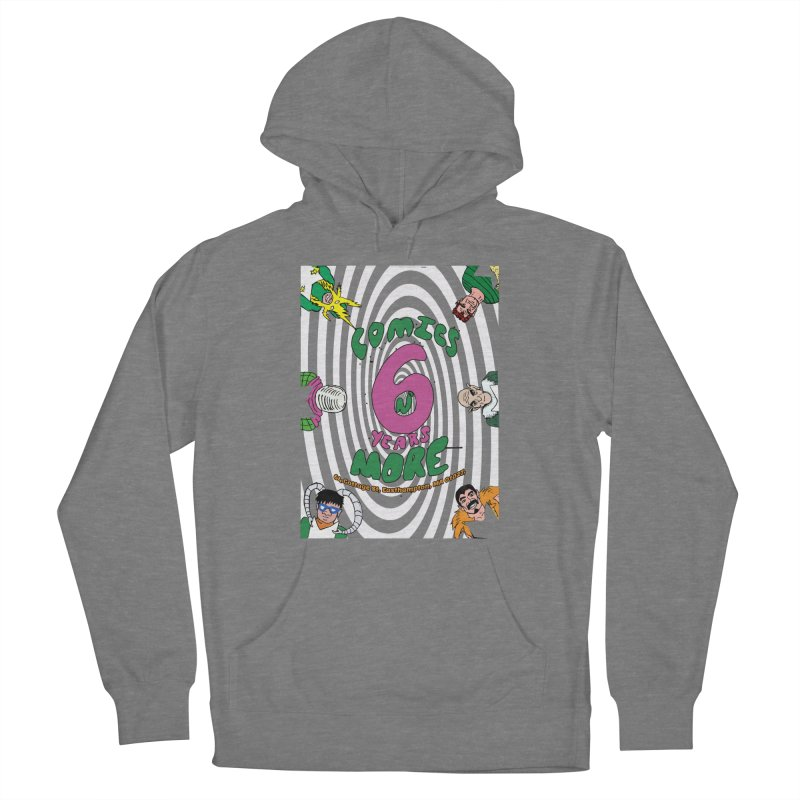 SIX YEARS WHITE SPIRAL Women's Pullover Hoody by Comixmonger's Closet