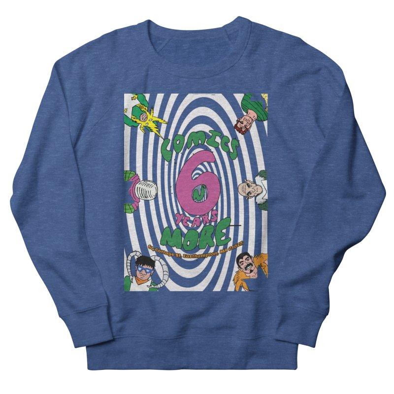 SIX YEARS WHITE SPIRAL Men's Sweatshirt by Comixmonger's Closet