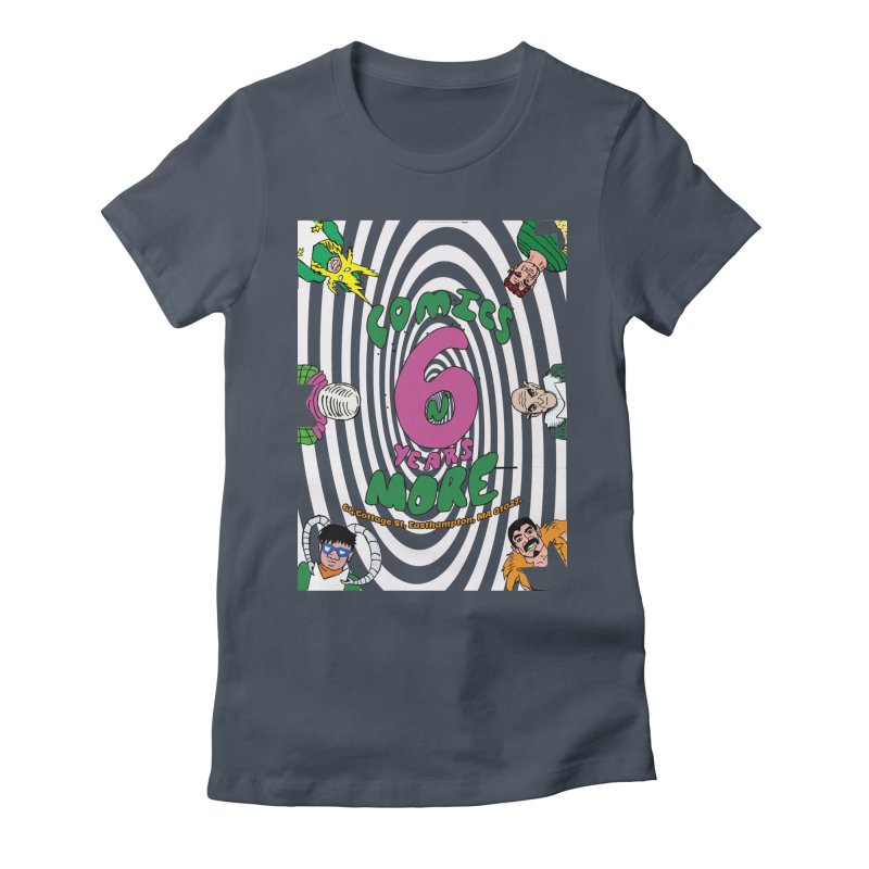 SIX YEARS WHITE SPIRAL Women's T-Shirt by Comicsnmore's Artist Shop