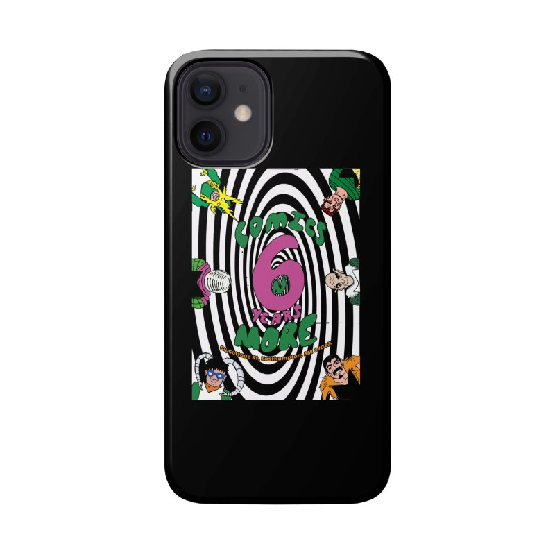 SIX YEARS WHITE SPIRAL Accessories Phone Case by Comixmonger's Closet