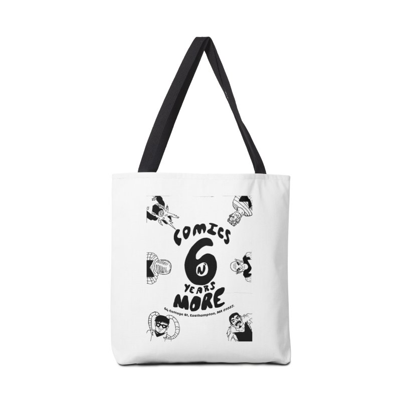 SIX YEARS B&W Accessories Bag by Comicsnmore's Artist Shop
