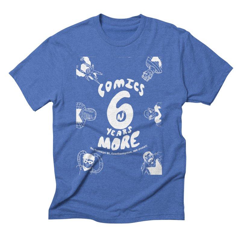 SIX YEARS W&B Men's T-Shirt by Comixmonger's Closet