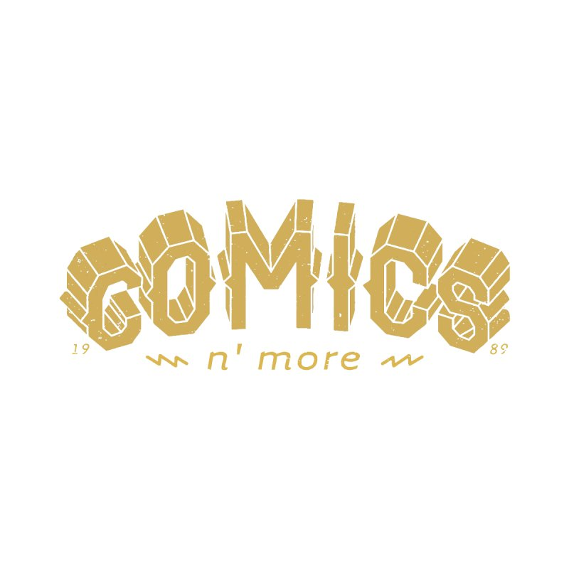 Comics N More Gold Men's Sweatshirt by Comicsnmore's Artist Shop
