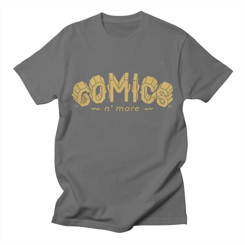 Comics N More Gold Women's T-Shirt by Comixmonger's Closet