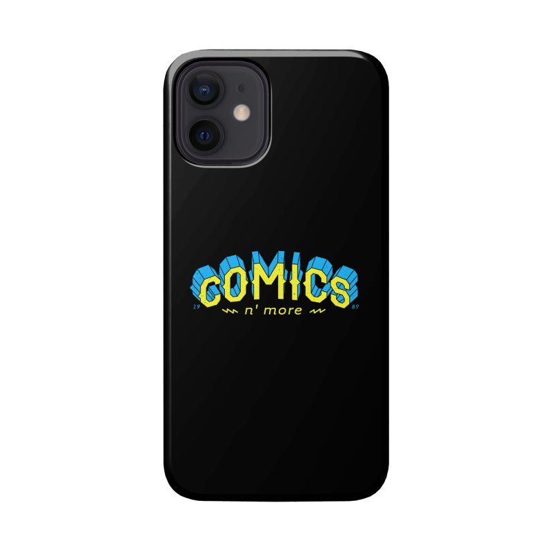 Yellow Blue Comics N' More Accessories Phone Case by Comixmonger's Closet