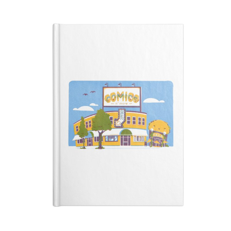Our 7 Year Anniversary Accessories Notebook by Comixmonger's Closet