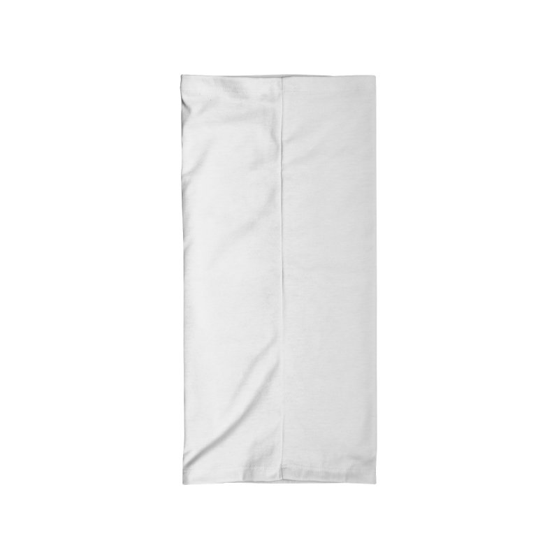 Our 7 Year Anniversary White Accessories Neck Gaiter by Comixmonger's Closet