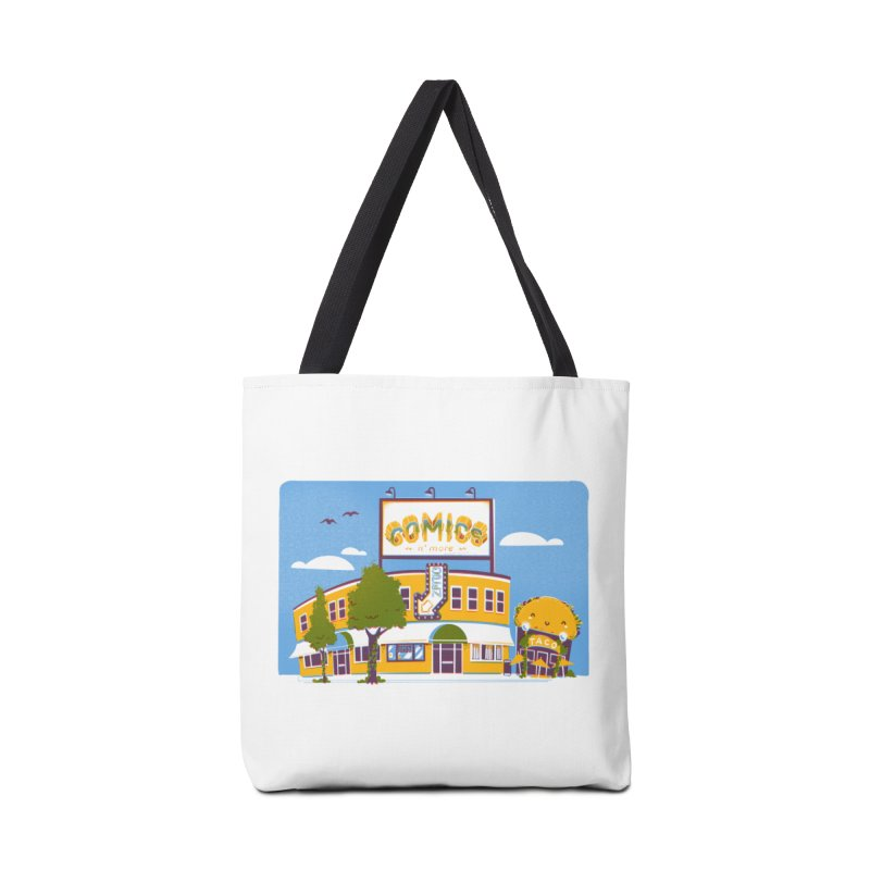 Our 7 Year Anniversary White Accessories Bag by Comixmonger's Closet
