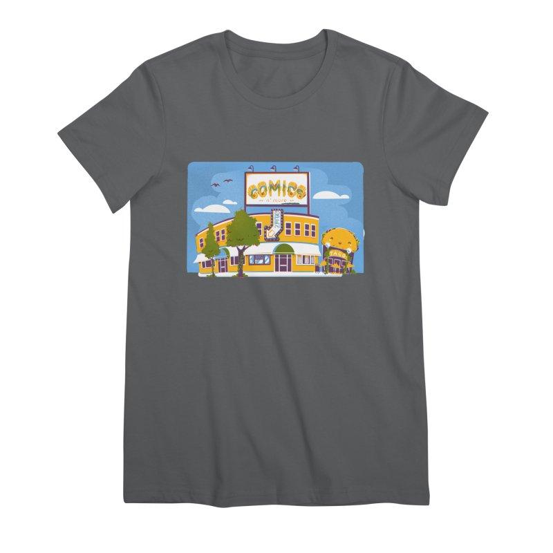 Our 7 Year Anniversary White Women's T-Shirt by Comixmonger's Closet